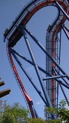 Busch Gardens rollercoaster