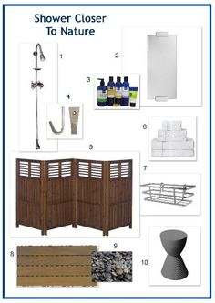 1000 images about Outdoor showers on Pinterest