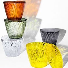Sparkle is a versatile side table from Kartell with a removable lid. It comes in a range of colours too - suiting any interior. Buy at Utility - Original Design. Modern Lighting, Modern Furniture, Decorative Bowls, Sparkle, Interior, Bright Colours, Furnitures, Console, Amber