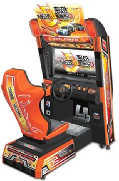 Speed Driver 3 Video Arcade Car Racing Game From Wahlap Technology