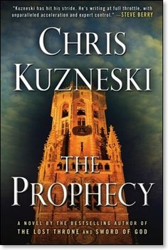 The Prophecy- another interesting read. This author likes to use unusual facts as basis for these stories.