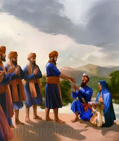Vaisakhi- The Truth and the importance of Amrit What happened on the day of Vaisakhi? Some people spread many lies such as that Dhan Dhan Sahib Sri Guroo Gobind Singh Ji Maharaj didn't actually cut… Sikh Quotes, Gurbani Quotes, Warriors Wallpaper, Guru Gobind Singh, Temple India, Ceramic Angels, Found Art, Indian Festivals, Nature Wallpaper
