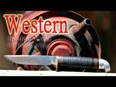 Vintage Western Boulder Colo. PAT'D Hunting Knife - YouTube