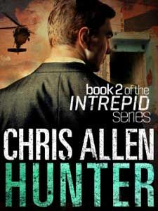 Hunter, book 2 of the Intrepid series by Chris Allen