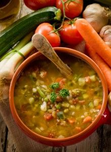 Fat Flush Recipe - Herb n Veggie Soup