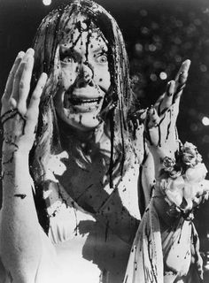 Sissy Spacek as Carrie - 'Carrie', 1976, directed by Brian De Palma.