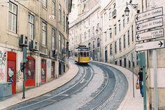 Lisbon tram line
