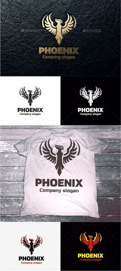 Phoenix — Vector EPS #letter #business company • Available here → https://graphicriver.net/item/phoenix-/11303929?ref=pxcr