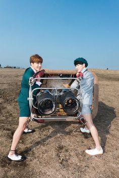 J-Hope & Jimin - BTS - 'HwaYangYeonHwa: Young Forever' Photoshoot