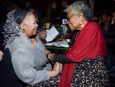 My two fav inspirational literary artists Toni Morrison and Dr.Maya Angelou.. Striving for their greatness in every way