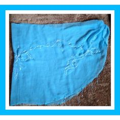 BRAND NEW PRETTY BLUE SARONG BRAND NEW PRETTY BLUE SARONG; GREAT FOR THE BEACH Swim Sarongs