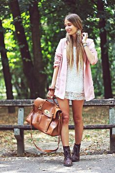 LOVE the pink jacket