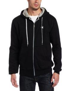 Champion Men's Champion Eco Fleece Full Zip Hoodie #hoodie #fleece