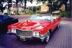 1969 Cadillac Coupe DeVille Convertible The Old North American cars of the Netherlands
