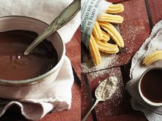 DIY tutorial: Spanish Churros with Chocolate via DaWanda.com