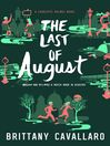The Last of August Charlotte Holmes by Brittany Cavallaro