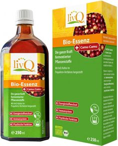 LivQ Bio-Essenz Camu Camu - Bio - 250ml
