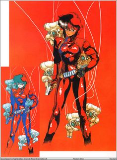 "Masamune Shirow: Major Motoko Kusanagi from ""Ghost in the Shell"" Old Anime, Manga Anime, Masamune Shirow, Motoko Kusanagi, Cyberpunk Girl, Drawing Activities, Perspective Art, Manga Artist, Ghost In The Shell"