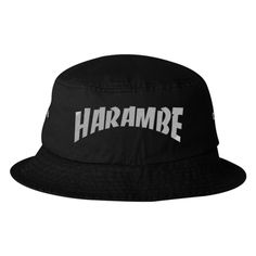 Rest In Peace Harambe Bucket Hat