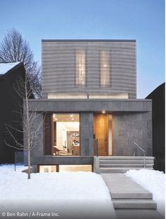 Einfamilienhaus In Toronto Konzentriert Sich Auf Energieeffizienz