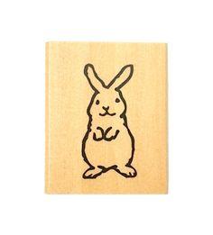 Kodomo aucun tampon Kao Piccolo - lapin par niconecozakkaya sur Etsy https://www.etsy.com/fr/listing/458890706/kodomo-aucun-tampon-kao-piccolo-lapin