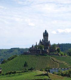 Cochem Castle in Germany