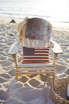 Outdoor spirit: http://www.stylemepretty.com/living/2015/05/25/inspired-by-patriotic-decor/
