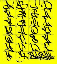 Easy Graffiti Drawings, Indie Drawings, Graffiti I, Graffiti Writing, Graffiti Tagging, Grafitti Letters, Graffiti Lettering Alphabet, Tattoo Lettering Fonts, Different Lettering