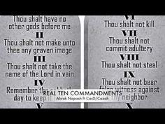 It's the REAL Ten Commandments / Ahrak Napash featuring CasDisciple {#HebrewMusic}