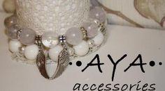 """A set of bracelets """" Light """" by AYASHOP for $28.00"""