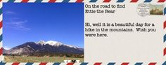 Mt. Princeton where Ettie the Bear was last seen.