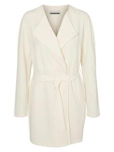 Simple trench coat from Noisy may