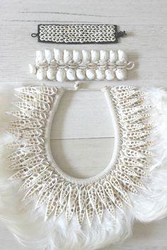 Losari Treasures, Eclectic Shell Necklace and Wristlets/Bracelets/Anklets losari.com.au