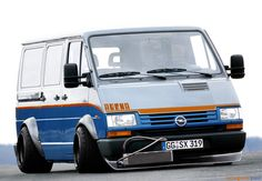 Opel. Love the stretch of those tires.