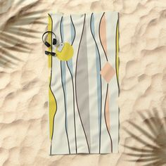 ComeBack  #society6  #decor #buyart Beach Towel