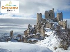 Rocca Calascio: How much a snowfall is a dusting?