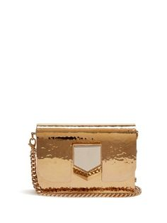 Lockett Minaudière hammered-metal clutch | Jimmy Choo | MATCHESFASHION.COM US