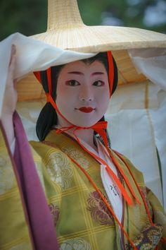 藤原為家の室 舞妓 maiko 富津愈 tomitsuyu 時代祭 KYOTO JAPAN