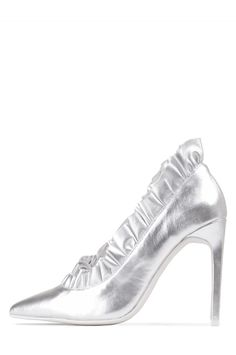 Jeffrey Campbell Shoes CHA-CHA Shop All in Silver