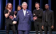 Tennant, Dench, Cumberbatch, McKellan and Prince Charles perform on stage in Stratford-upon-Avon