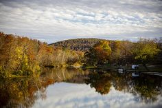 Fall reflections on Lake Killarney in Iron County Missouri by Notley Hawkins Photography. I used a Canon EOS 5D Mark III with a EF24-70mm f/2.8L USM zoom lens to capture this scene. Processed in Adobe Lightroom 5.6.