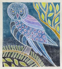 I took a class with Amy McGregor Radin in April of 2013 at the Arsenal Center for the Arts in Watertown, MA. I discovered a technique that brings together printmaking and watercolor painting: tw...