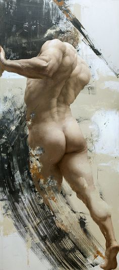 Shane Wolf - Thrust. Shane Wolf is one of the few contemporary masters of figural drawing and painting.  Gandalf's Gallery
