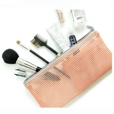 Portable Travel Cosmetic Bag Wash Toiletries Makeup Organizer Storage Case Purse Pouch♦️ SMS - F A S H I O N  http://www.sms.hr/products/portable-travel-cosmetic-bag-wash-toiletries-makeup-organizer-storage-case-purse-pouch/ US $0.81