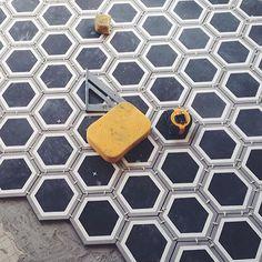 Clé hexagon cement tiles