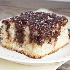 Kókuszos fakanalas süti Hungarian Desserts, Hungarian Recipes, Cake Cookies, Tiramisu, Healthy Living, Sweet Treats, Dessert Recipes, Dessert Ideas, Deserts