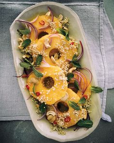 Sprouted Summer Salad [uses sprouted quinoa and FYI Sprouting your grains may make them easier to digest and increase their nutritional benefits.]