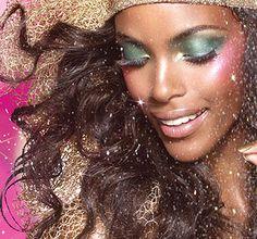 21 Adorable Christmas Makeup Ideas 2013