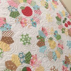 Sew Cherry 2 Quilt Lori Holt Riley Blake Fabrics