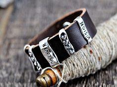 Discover, Strength & Vision Bracelet.  #bracelet #jewelry #cowgirljewelry #handmadejewelry #inspirationjewelry  islandcowgirl.com